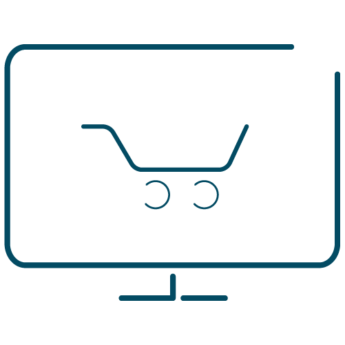 Marketing Services E-commerce Website Icon