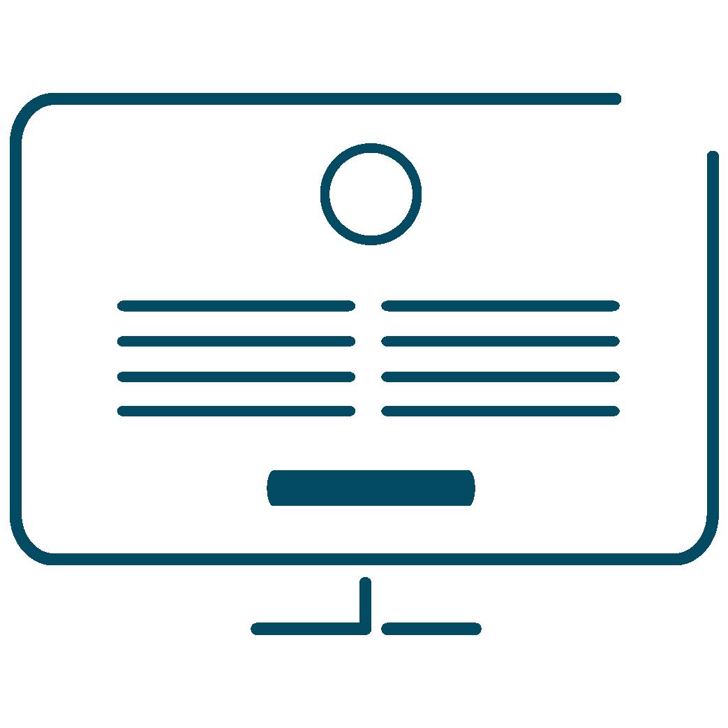 Marketing Services Website Copywriting Icon
